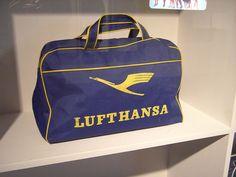 Lufthansa bag - Contemporary art in the Stedelijk CS museum in Amsterdam by temp13rec., via Flickr