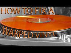 How to fix a warped vinyl record Home Music, Home Studio Music, Design Studio Office, Recording Studio Design, Hifi Turntable, Audiophile, Monitor, Vinyl Record Collection, Old Vinyl Records