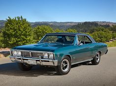 1967 Pontiac Beaumont Sport~De`luxe 427 CI 450 HP Deluxe is the variation of the Super Sport models....