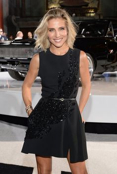 Pin for Later: 32 Stars Turning 40 This Year Elsa Pataky The Furious 7 star and wife of Chris Hemsworth turns 40 on July 18.