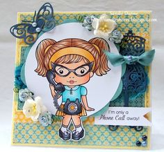 La-La Land Crafts Blog: Telephone Marci
