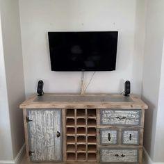 Wood Creations, Flat Screen, Creative, Furniture, Blood Plasma, Flatscreen, Home Furnishings, Wood Crafts, Dish Display