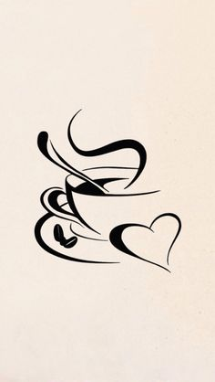 coffee....this would make a great tattoo