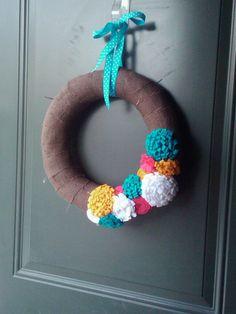 Summer wreath @Camille Brown