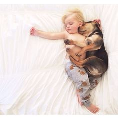6 months later, this toddler and his puppy still nap adorably together every day. awwwwwwww!!!!