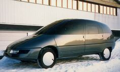 1987, Ohta (Ohta) - compact van Concept based on Lada-21083 by Gennady Khainov and Dmitry Parfenov. USSR