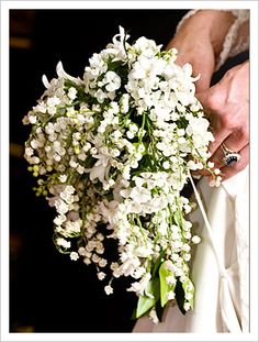 "... lily-of-the-valley and hyacinth, had a special signficnace to royal tradition, the Royal Family and the Middleton family. Kate even chose to include "" ..."