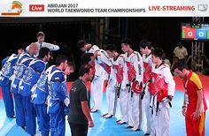WORLD TAEKWONDO TEAM CHAMPIONSHIPS ABIDJAN 2017- Live streaming