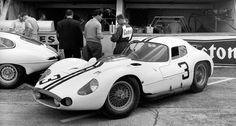 The Briggs Cunningham Tipo 151 at the 1962 Le Mans 24 Hour race