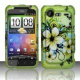 Green Hawaiin Flowers Hard Cover Case for HTC Droid Incredible 2 / Droid Incredible S / 6350 Reviews - Green Hawaiin Flowers Hard Cover Case for HTC Droid Incredible 2 / Droid Incredible S / 6350      Green Hawaiin Flowers Hard Cover Case for HTC Dro