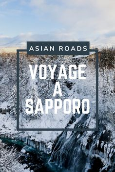 Ancienne cité coloniale, Sapporo est surtout célèbre grâce aux Jeux Olympiques d'hiver de 1972 ! Sapporo, Destinations, Roads, Japan, Winter Festival, Winter Olympics, Travel, Road Routes, Street