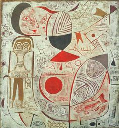 Paul Klee – Printed Sheet with Picture, 1937