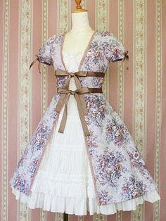 La Vie Classique • Classical Bouquet Over Dress by Victorian Maiden