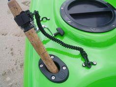 Kayak Fishing Accessories Diy Kayak Rod Leash – Build a boat Kayak Fishing Tips, Fishing Rod Rack, Fishing Rod Storage, Alaska Fishing, Fishing 101, Kayak Camping, Canoe And Kayak, Best Fishing, Kayak Storage