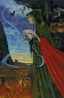 death from Druid Tarot