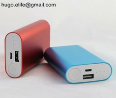 Aluminium shape Power bank hugo.elife@gmail.com