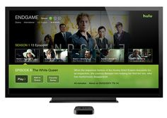 Hulu Apple TV App redesign on Behance