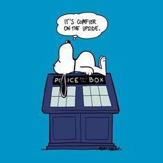 Snoopy Tardis - Doctor Who