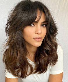 One Length Haircuts, Thin Hair Haircuts, Round Face Haircuts, Short Wavy Hairstyles, Chubby Face Haircuts, Cute Haircuts, Medium Hair Cuts, Long Hair Cuts, Thick Medium Hair