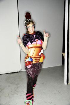 Manish Arora AW14-15 Fashion Show Paris Backstage   Sonny Vandevelde