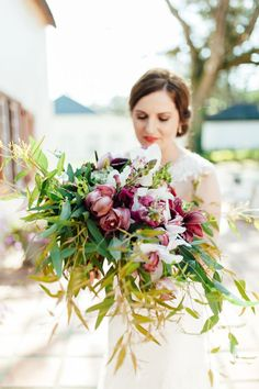 Opulent Organic Wedding at Diamant Estate by Nadine Aucamp | South Africs