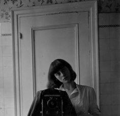 Diane Arbus, Self-portrait, 1945    more in Flavorwire.com