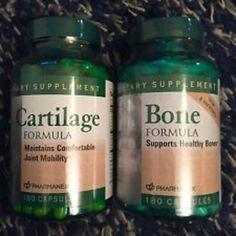 Nuskin pharmanex bone+cartilage formula calcium vitamin k flexcare joint