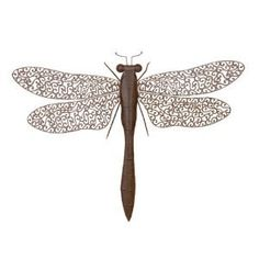 Dragonfly Milia Metal Wall Decor Sculpture 37 *** You can get more details by clicking on the image. (This is an affiliate link and I receive a commission for the sales)