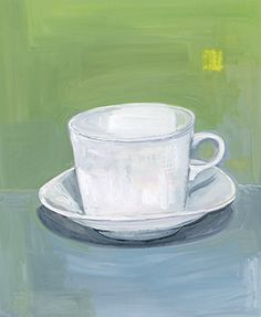 illustration of a cup by Maira Kalman