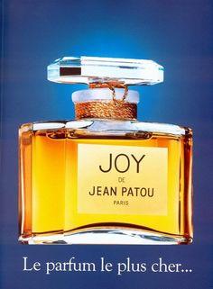 BEM-VINDO AO E.S.P FASHION BLOG BRASIL: Joy de Jean Patou (1930, 2015)