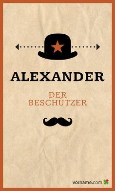 Du suchst einen Name mit einer schönen Bedeutung für Dein Kind? Finde heraus, wo der beliebte Jungenname herkommt, wann sein Namenstag ist und vieles mehr. Alle Infos zum Namen Alexander auf Vorname.com entdecken!