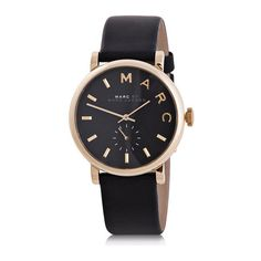 Marc by Marc Jacobs Women's Baker Watch (€130) ❤ liked on Polyvore featuring jewelry, watches, marc by marc jacobs jewelry, marc by marc jacobs watches and marc by marc jacobs