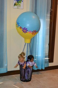 American Girl Doll Play: Reader Spotlight - Handmade Hot Air Balloon for Saige!