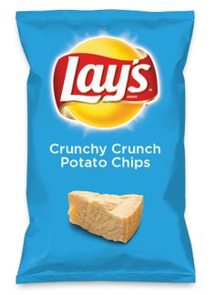 Wouldn't Crunchy Crunch Potato Chips be yummy as a chip? Lay's Do Us A Flavor is back, and the search is on for the yummiest flavor idea. Create a flavor, choose a chip and you could win $1 million! https://www.dousaflavor.com See Rules.
