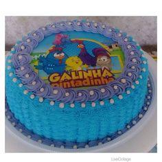 Bolo Galinha Pintadinha #cake #bolo #galinhapintadinha #amoconfeitar