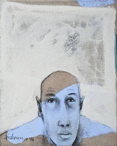 "Saatchi Art Artist Bahram Hajou; Painting, ""No Title"" #art"