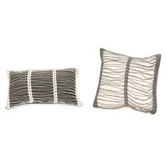 STRIPED CROCHET PILLOWS | fair trade, crocheted, handmade pillow | UncommonGoods