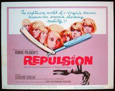 Repulsion, US title card, 1965.