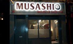 Musashi Noodles & Sushi Bar - 15 Capel St, Dublin1