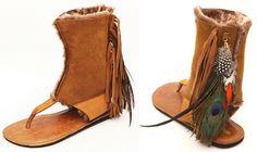 Koolaburra Kythira Feather Sandals | Koolaburra Kythira Feather ...