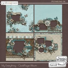 The amazing Gotta Grab It event at Gotta Pixel is here and Connie's contribution is a MUST-HAVE! Check out these TEN great new pac. Scrapbook Borders, Scrapbook Sketches, My Scrapbook, Scrapbook Paper Crafts, Scrapbook Layouts, Baby Mini Album, Layout Template, Digital Scrapbooking, Scrapbooking Ideas