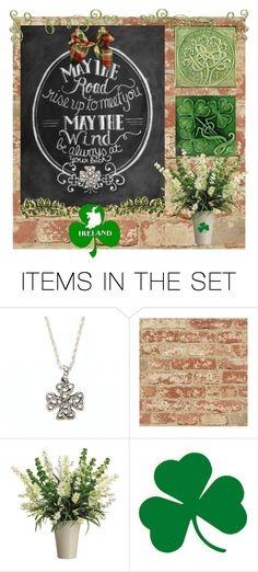 """""""Irish Blessing"""" by skpg ❤ liked on Polyvore featuring art"""