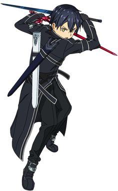 Kirito Sao, Kirito Kirigaya, Chica Anime Manga, All Anime, Sailor Moon, Sword Art Online Wallpaper, Sword Art Online Kirito, Dragon Ball, Anime Poses