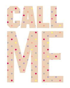 Love PINK. #CallMe