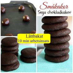 Madame Edith - Recept: Sega chokladkakor