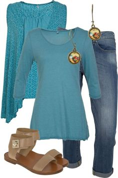 Lagoon Swoon Outfit includes Vigorella, Nest Of Pambula, and Esprit - Birdsnest Fashion Clothing