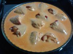 Pimientos del piquillo con gambas y palitos de cangrejo para #Mycook http://www.mycook.es/receta/pimientos-del-piquillo-con-gambas-y-palitos-de-cangrejo/