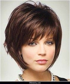 hairstyles for round faces over 50 - Google Search