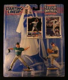 1997 MLB Starting Lineup Classic Doubles - Randy Johnson & Nolan Ryan
