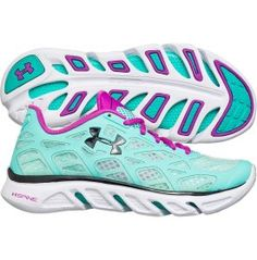 Under Armour Women's Spine Vice Running Shoe - Mint/White | DICK'S Sporting Goods